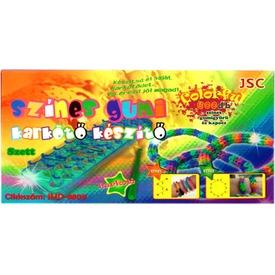 Színes 600 darabos gumi karkötő készítő Itt egy ajánlat található, a bővebben gombra kattintva, további információkat talál a termékről.