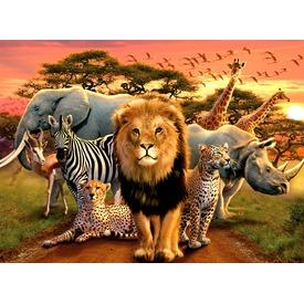 Puzzle 500 db - Afrikai állatok Itt egy ajánlat található, a bővebben gombra kattintva, további információkat talál a termékről.