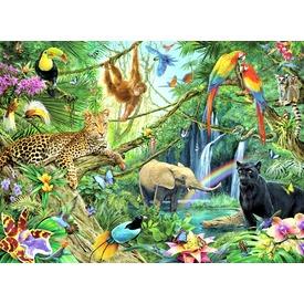 Puzzle 200XXL - Dzsungel