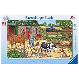 Tanyasi élet 15 darabos puzzle Itt egy ajánlat található, a bővebben gombra kattintva, további információkat talál a termékről.