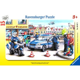 Rendőrök 15 darabos puzzle Itt egy ajánlat található, a bővebben gombra kattintva, további információkat talál a termékről.