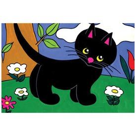 Cikicakk, a fekete cica diafilm 34104237