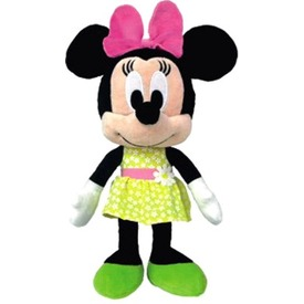 Minnie egér Disney plüssfigura virágos ruhában - 25 cm Itt egy ajánlat található, a bővebben gombra kattintva, további információkat talál a termékről.