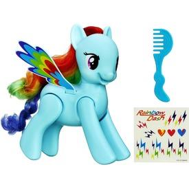Én kicsi pónim: ugráló és pörgő Rainbow Dash póni Itt egy ajánlat található, a bővebben gombra kattintva, további információkat talál a termékről.