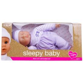 Sleepy Baby játékbaba - 30 cm, többféle