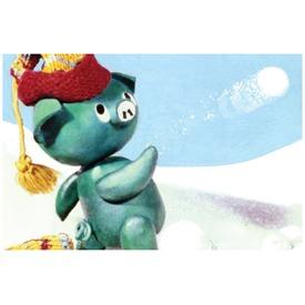 Mazsola és a hóember diafilm 34102202