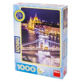 Puzzle 1000 db neon - Budapest