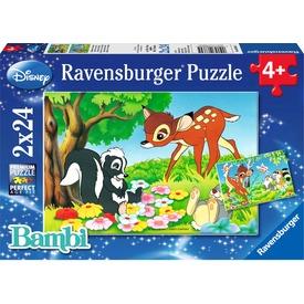 Bambi 2 x 24 darabos puzzle Itt egy ajánlat található, a bővebben gombra kattintva, további információkat talál a termékről.