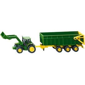 Siku: John Deere traktor utánfutóval 1:87 - 1843