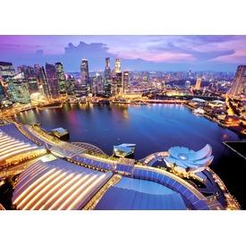 Szingapúr 1000 darabos puzzle