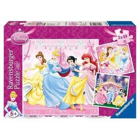 Disney hercegnők 3 x 49 darabos puzzle Itt egy ajánlat található, a bővebben gombra kattintva, további információkat talál a termékről.