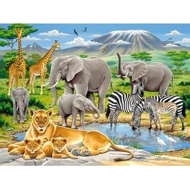 Afrika állatai 200 darabos XXL puzzle