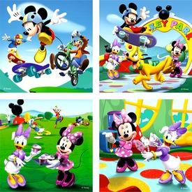 Mikiegér 2 x 25 és 2 x 36 darabos puzzle Itt egy ajánlat található, a bővebben gombra kattintva, további információkat talál a termékről.