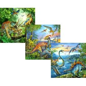 Dinoszauruszok 3 x 49 darabos puzzle Itt egy ajánlat található, a bővebben gombra kattintva, további információkat talál a termékről.