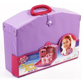 Étkező szoba táskában 29 cm-es játékbabához Itt egy ajánlat található, a bővebben gombra kattintva, további információkat talál a termékről.