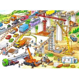 Építkezés 100 darabos XXL puzzle Itt egy ajánlat található, a bővebben gombra kattintva, további információkat talál a termékről.