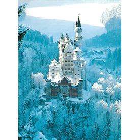 Neuschwanstein-i kastély télen 1500 darabos puzzle
