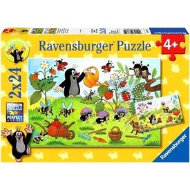 Kisvakond a kertben 2 x 24 darabos puzzle