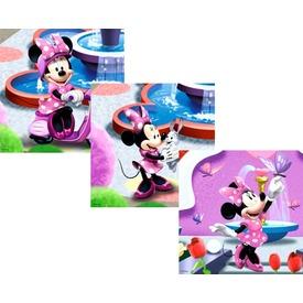 Minnie egér 3 x 49 darabos puzzle