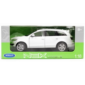 Welly: Audi Q7 autómodell - 1:18