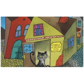Pincérfrakk utcai cicák diafilm 34102929