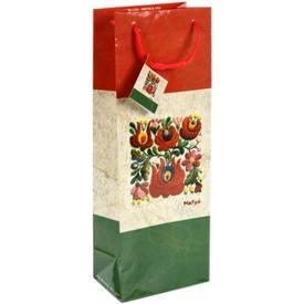 Matyó mintás antikolt boros ajándéktasak Itt egy ajánlat található, a bővebben gombra kattintva, további információkat talál a termékről.