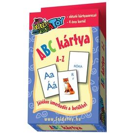 ABC A-Z kártya