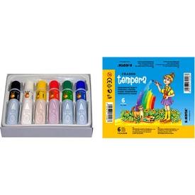 Tubusos színes tempera - 6 x 7 ml Itt egy ajánlat található, a bővebben gombra kattintva, további információkat talál a termékről.