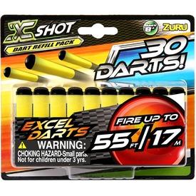 X-Shot 30 darabos szivacslőszer utántöltő