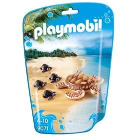 Playmobil Tengeri teknősbéka kicsinyeivel 9071