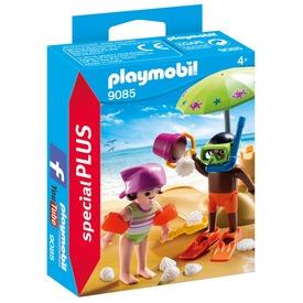Playmobil Homokvár építés 9085
