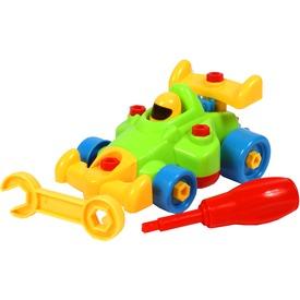 Szerelhető jármű - versenyautó Itt egy ajánlat található, a bővebben gombra kattintva, további információkat talál a termékről.