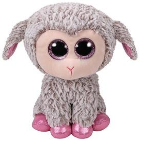 Beanie Boos DIXIE szürke bárány plüss 24cm