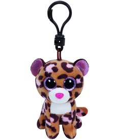 Beanie Boos Clip PATCHES leopárd plüss 8, 5cm