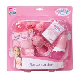 Baby Born kiegészítő készlet babákhoz Itt egy ajánlat található, a bővebben gombra kattintva, további információkat talál a termékről.
