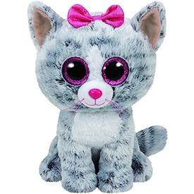 Beanie Boos KIKI szürke macska plüss 15 cm