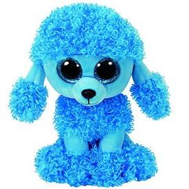 Beanie Boos MANDY kék pudli plüss 15 cm