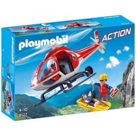 Playmobil Hegyimentő helikopter 9127