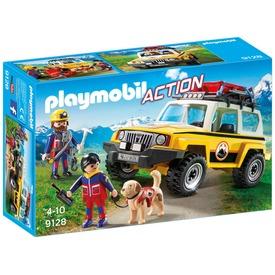 Playmobil Hegyimentő terepjáró 9128