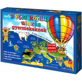 Noris: Föld körüli utazás gyermekeknek társasjáték Itt egy ajánlat található, a bővebben gombra kattintva, további információkat talál a termékről.