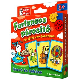Bogyó és Babóca Furfangos párosító kártyajáték Itt egy ajánlat található, a bővebben gombra kattintva, további információkat talál a termékről.