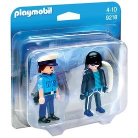 Playmobil Rendőr és tolvaj készlet 9218