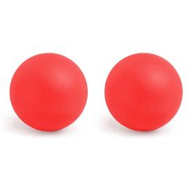 Csocsó golyó 2 darabos készlet - 3 cm, piros