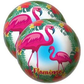 Labda 23 cm - Flamingó
