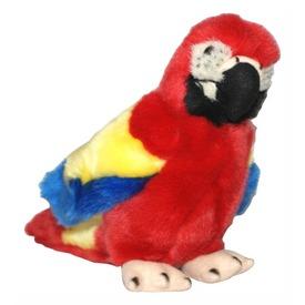 Papagáj plüssfigura - piros, 18 cm Itt egy ajánlat található, a bővebben gombra kattintva, további információkat talál a termékről.