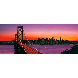 Oakland Bay híd 1000 darabos panoráma puzzle