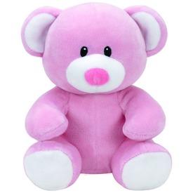 Baby Ty PRINCESS rózsaszín maci plüss figura 15 cm