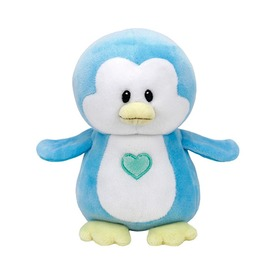 Baby Ty TWINKLES kék pingvin plüss 15cm
