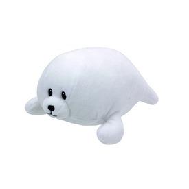 Baby Ty TINY fehér fóka plüss figura 15 cm