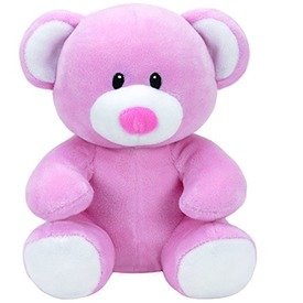 Baby Ty PRINCESS rózsaszín maci 24cm
